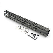 13.5''  Ultralight KeyMod handguard with Monolithic top rail Aluminum barrel nut