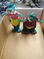 Earl & Fran Dinosaur -Action Figurines