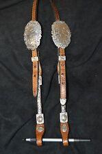 Moran Western Silver Show Headstall