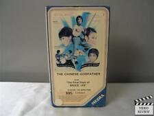 The Chinese Godfather (VHS) Chan We-Min Travdor Ramos Wu Chin