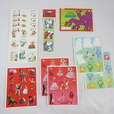 Vintage Hallmark Stickers & Mini Album: Barbie, Snoopy, Hedgehog, Toy Story