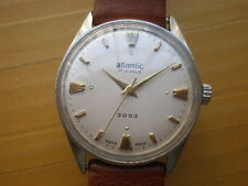 Vintage SWISS Atlantic 17 Jewels Manual Men's Watch