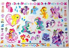 My Little Pony Temporary Tattoo Sheet Children Kids Birthday Party Bag Filler