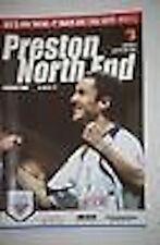 Preston v Watford Programme 12th Jan 2008