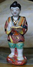 "1950s Vintage Boy 6"" porcelain Japanese Hand Painted Figurines"