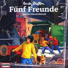 CD * FÜNF FREUNDE - HÖRSPIEL / CD 51 - UND DER EISENBAHNRAUB # NEU OVP =