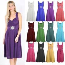 Unbranded Dresses for Women with Belt Midi