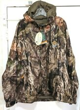 ScentLok Vapour Waterproof Mid Weight Jacket Mossy Oak Country Camo Size: Medium