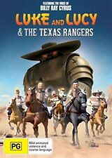 Luke And Lucy & The Texas Rangers (DVD, 2014) Brand New, Genuine & Sealed  - D44