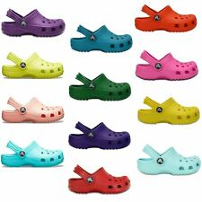Crocs Classic Kids Roomy Fit Clogs Shoes Sandals in All Sizes 204536