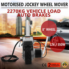 Motorized Trailer Jack Wheel 12V Mover Electric Power Mover Dolly 350W New