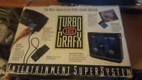 Turbografx 16 Console bundle - Box and 9 Games with manuals! Tested ! ! ! ! ! !