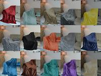 Faux Fur Throws Fleece Mink Sofa / Bed Luxury Double King Size Warm mink
