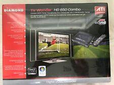 Diamond TVW650USB ATI TV Wonder HD 650 Combo HDTV Tuner PVR