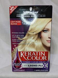 Schwarzkopf Keratin Color Permanent Hair Color Cream 12.0 Light Pearl Blonde