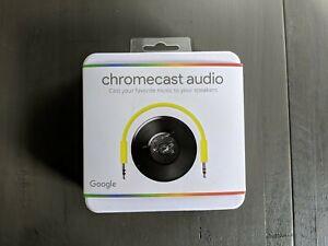 Google CHROMECAST AUDIO Media Streamer GA3A00147-A14-Z01 Opened Box