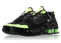 Women's Nike Shox Enigma BLACK LIME BLAST GREEN CK2084-002 Running Retro