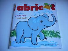 ABRICOT - MOI JE ME LAVE TOUT SEUL ! N° 270. OCTOBRE 2011