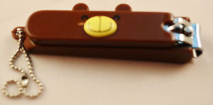 CHOCO TEDDY CUTE STAINLESS STEEL NAIL CLIPPER (3 Colors) -Teddy Face Design