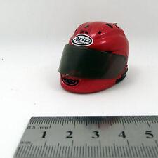 XE05-03 1/6 Scale HOT ZCWO Female Motorcycle Helmet Red CY CG TAKARA TOYS