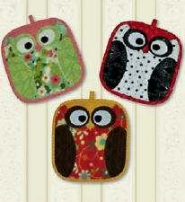 New NIGHT OWL Potholder Pattern