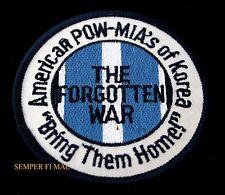 KOREAN WAR HAT PATCH POW-MIA KOREA US ARMY MARINES NAVY AIR FORCE PIN UP GIFT