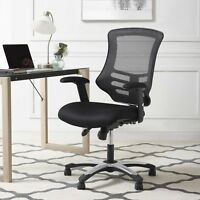 Ergonomic Mesh Adjustable Swivel Computer Desk Task Office Chair in Black