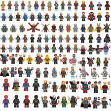 Avengers Marvel DC Comic Superhero Spider-Man Hulk Thor Kids Building Blocks Toy