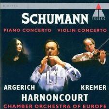 Argerich/Kremer/Harnoncourt-VIOLIN -/concerto pianoforte CD CLASSICA NUOVO Schumann