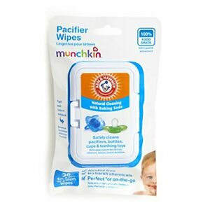 36 Pack Arm and Hammer Pacifier Wipes White