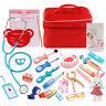 Montessori Holzspielzeug Zahnarzt Medizin Kit Doktor Pretend Play Kid Bildung