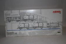 MARKLIN HO SCALE #2846 LUXEMBOURG STATE RAILWAYS TRACK MAINTENANCE TRAIN SET