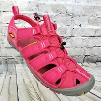 KEEN Clearwater CNX Womens Outdoor Sandals Shoes Hot Pink Size 9 Waterproof