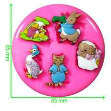 Peter Rabbit & Friends Mould by Fairie Blessings