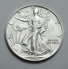 1986  American Silver Eagle Dollar 1 oz .999Fine Silver ,