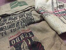 *RANDOM* Burlap Coffee Sacks XL Guatemala Brazil Africa Tanzania Columbia