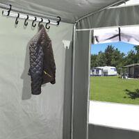 Zeltkleiderhaken mit 7 Haken Vorzelt Zelt Wohnwagen Wohnmobil