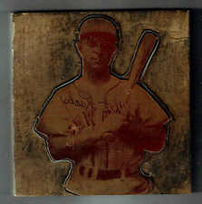1944 St. Louis Browns Chet Laabs, J.D. McCarthy Original Copper Printing Plate
