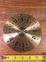 NOS 6 INCH CLOCK DIAL PAN (Clock Dial Lot R100)