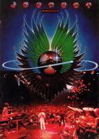 JOURNEY / STEVE PERRY 1979 EVOLUTION TOUR CONCERT PROGRAM BOOK / NMT 2 MINT