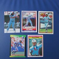 TIM RAINES  MONTREAL EXPOS  (10 DIFF) 1989 Odd Cards  3  N.Y Yankees White Sox