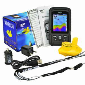 Colour Wireless Fish Finder - 100 Metre Range, Depth, Features, Carp, boat, rod