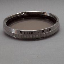 Rolleiflex 2,8 UV Filter Bajonett III Rollei - R 1,5 -0 mit Anschlußbajonett