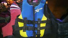 👀💲✔�Xps Child 30 - 50 Lbs Type Iii Life Vest Preserver Wake Board Jacket