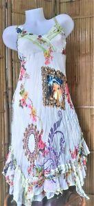 Sensations Pour Elle - Magnifique robe bohême/hippie chic - Taille S/M