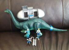 VINTAGE 1987 DINO-RIDERS DIPLODOCUS WITH ACTION FIGURE ACCESSORIES NOT COMPLETE