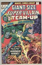 Giant-Size Super-Villain Team-Up #2 June 1975 FN