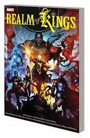 Realm of Kings GN Abnett Lanning GOTG Inhumans Hulk Quasar Avengers War New NM