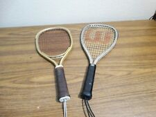 Lot of 2 Ektelom & WILSON TEMPEST PLUS RACQUET BALL RACQUET