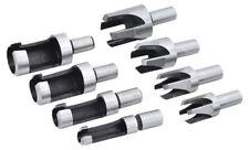 Rolson 48598 Wood Plug Cutter 8 Pieces
